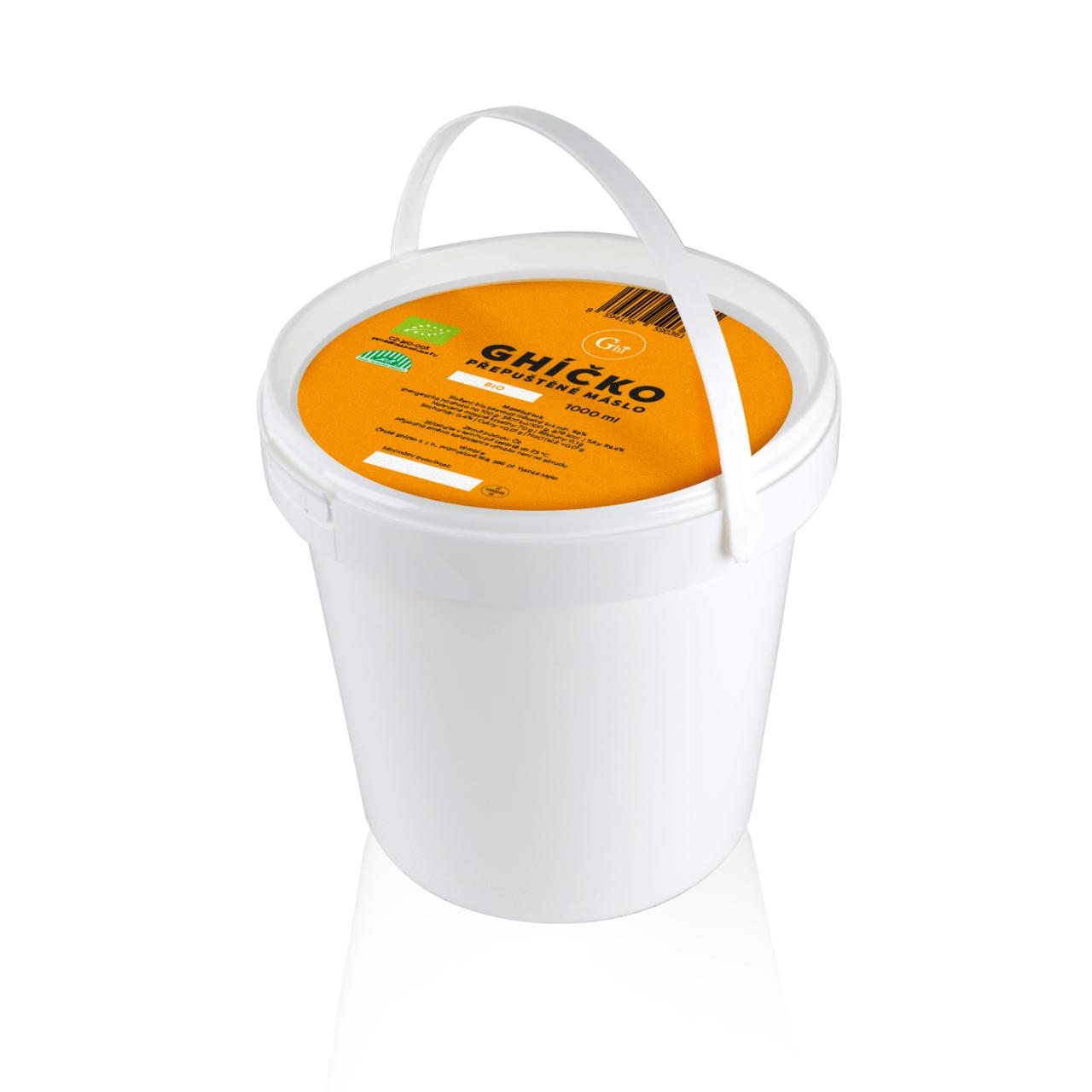 Ghí přepuštěné máslo 10l BIO