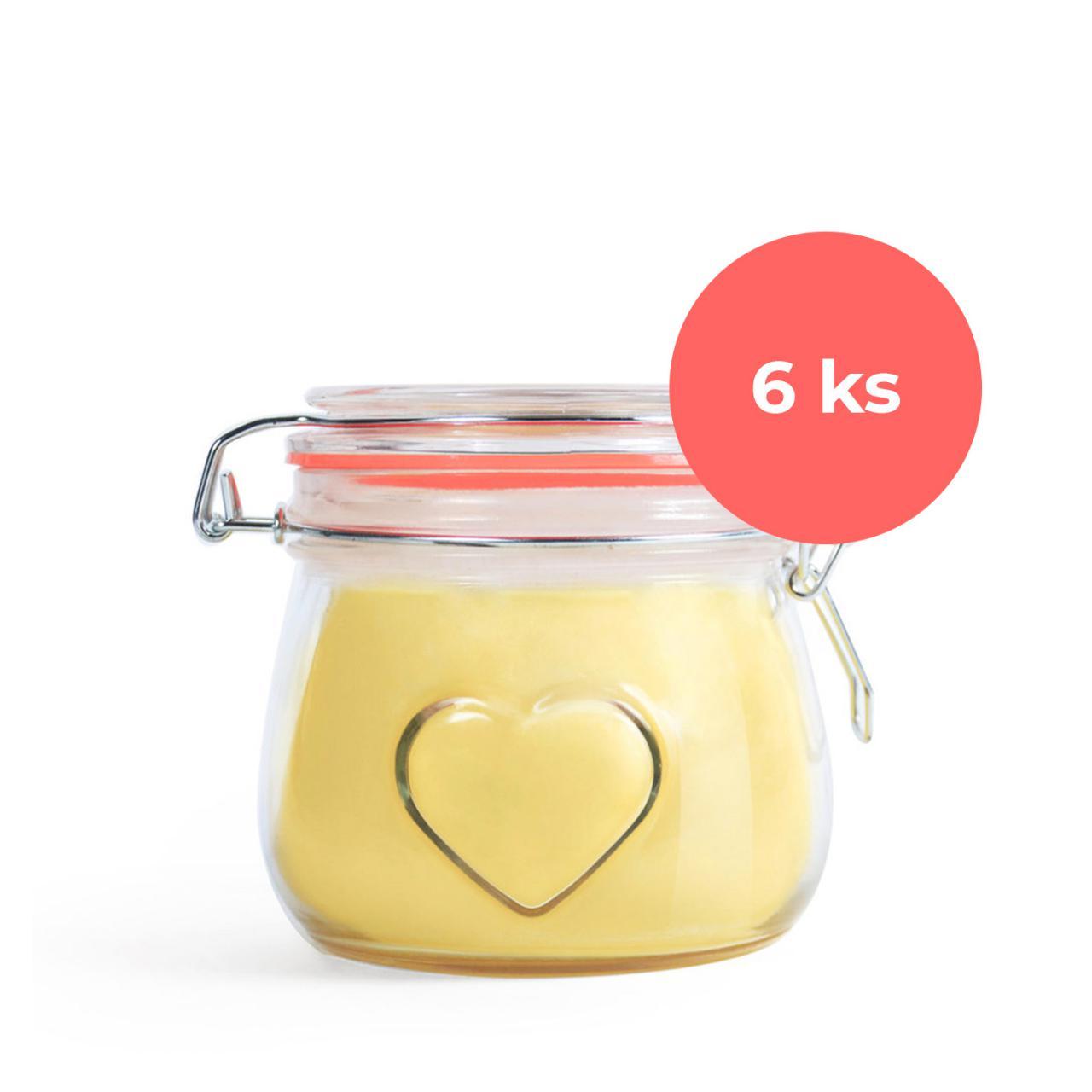 Ghí přepuštěné máslo Srdce 500ml čisté - karton 6ks