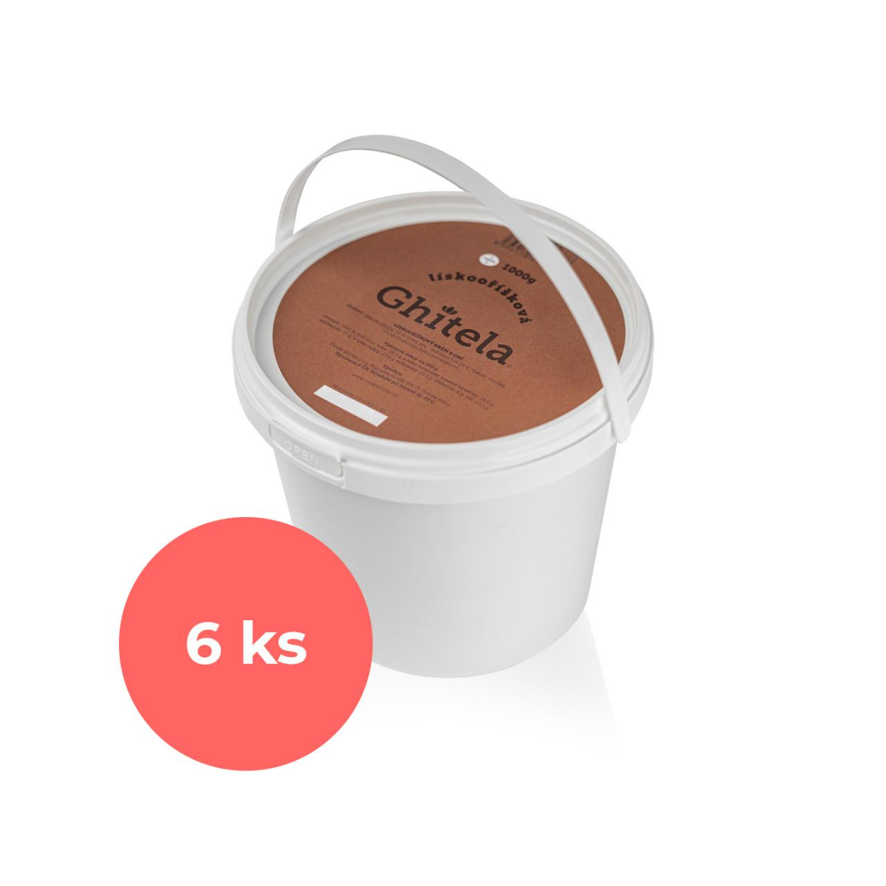 Ghitela® 1000g lískooříšková - karton 6ks