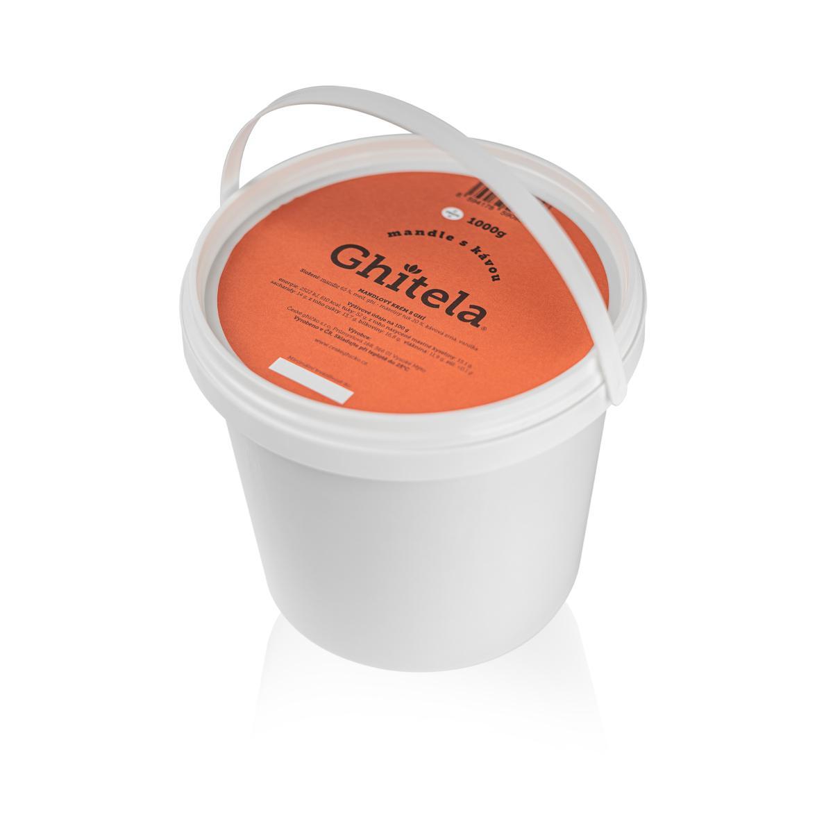 Ghitela® 1000g mandle & káva