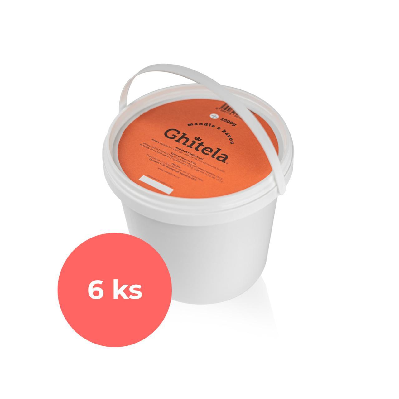 Ghitela® 1000g mandle & káva - karton 6ks