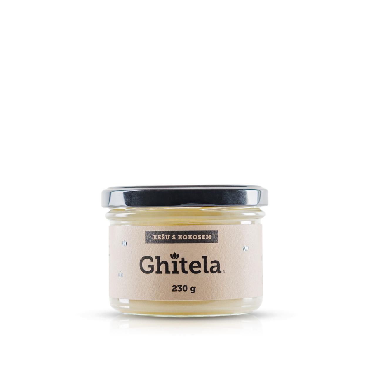 Ghitela® 230g kešu & kokos