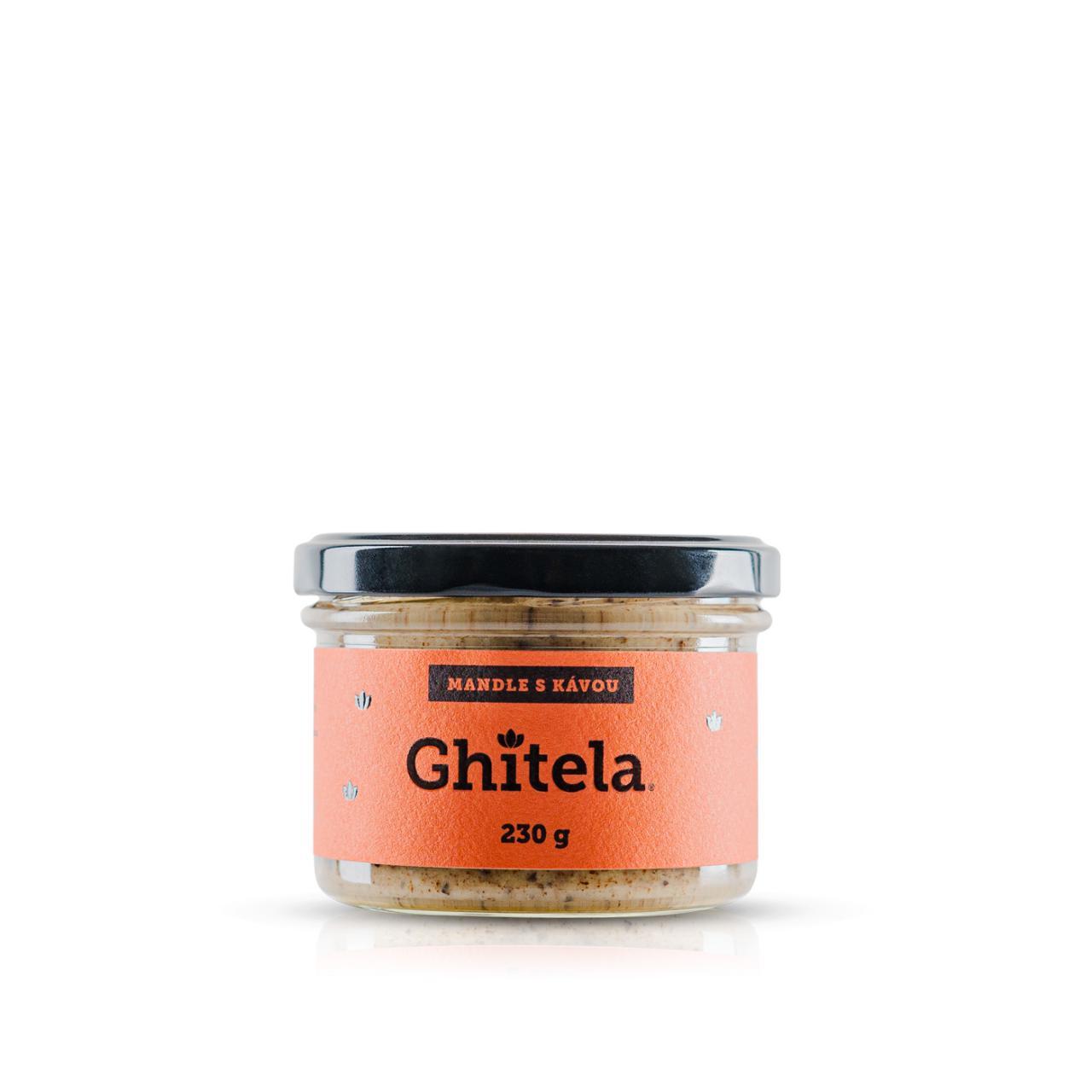 Ghitela® 230g mandle & káva